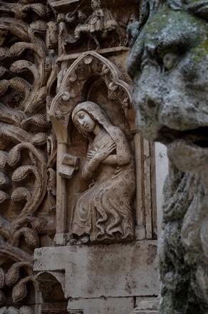 Altamura, détail du remarquable Duomo