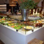 Altamure, buffet d'antipasti de la trattoria Tre Archi
