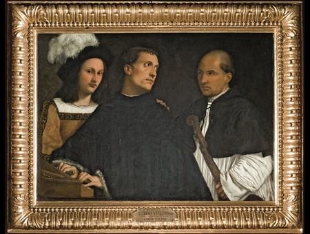Tiziano, Il concerto, 1510 ca, Firenze, Galleria Palatina di Palazzo Pitti