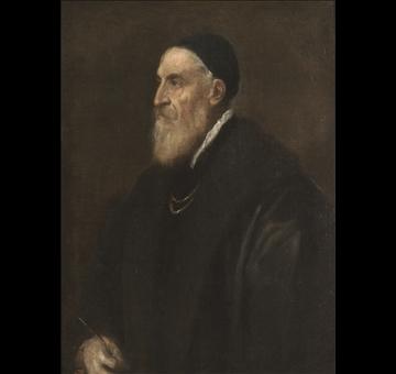 Tiziano, Autoritratto 1565 ca, Madrid, Museo Nacional de Prado