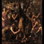 Tiziano, Punizione di Marsia ,1570-1576, Kroměříž, Státní zámek, Castello arcivescovile, Olomouc Museum of Art