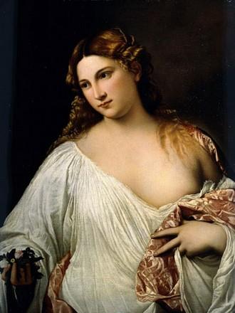Tiziano, Flora, 1517, Firenze, Galleria degli Uffizi
