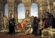 La calunnia di Apelle di Botticelli