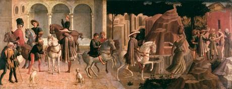 L'incontro di Gualtiere e Griselda, di Francesco di Stefano, detto Pesellino
