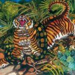 Antonio Ligabue, Tigre assalita dal serpente