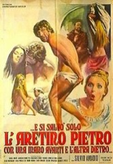 Silvio Amadio, … E si salvò solo l'Aretino Pietro con una mano davanti e l'altra dietro…, 1972