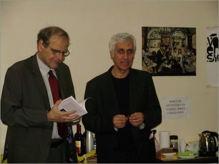 Nicola Guarino e Armando Lostaglio, incontro a Parigi