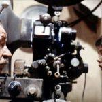 Noiret in Nuovo Cinema Paradiso