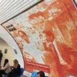 La foto di Pasolini e Irazoqui anche nella metrò di Parigi. I due protagonisti ritratti da Mimì Notarangelo nei Sassi di Matera.