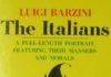 """Copertina originale - """"Gli italiani: Virtù e vizi di un popolo"""", di Luigi Barzini, Ed. Rizzoli."""
