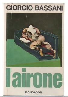 L'AIRONE di Giorgio BASSANI - Copertina della prima edizione