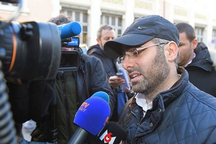 Benjamin Ansellem, l'insegnante ebreo aggredito da un minore musulmano a Marsiglia.