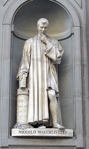 Statua di Niccolo' Macchiavelli, Lorenzo Bartolini