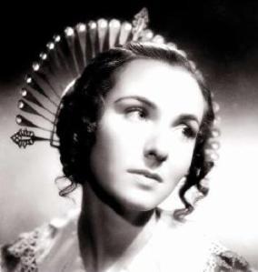 Dina Sassoli nei panni di Lucia Mondella nel film