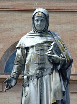 Boccaccio - Monumento di Augusto Passaglia a Certaldo