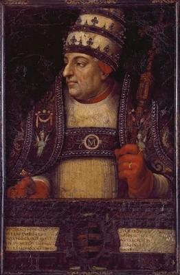 Juan de Juanes : Portrait du Pape Alexandre VI, Valence, Cathédrale, © Paco Alcántara