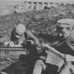 I due fratelli Giani (scrivendo) e Carlo nel 1916.