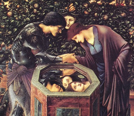 Edward Burne-Jones, La Testa funesta, 1886-1887