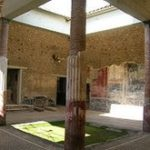 Scavi archeologici di Stabiae, atrio Villa San Marco