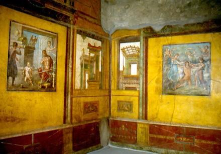 La restaurata casa dei Vetti a Pompei