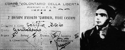 Carta d'identità partigiana di Italo Calvino