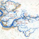Carte de la lagune dessinée par Serge Bassenko