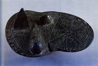 Foie en bronze conservé à Plaisance