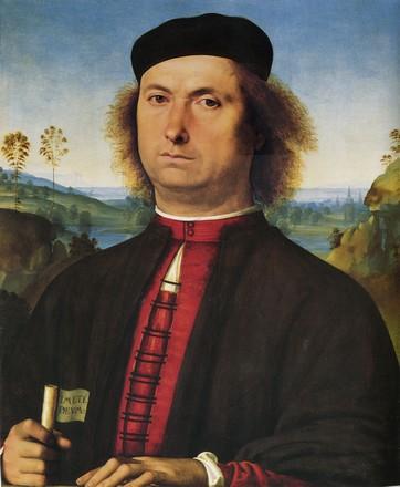 Portrait de Francesco delle Opere, huile sur bois, vers 1490, Galleria degli Uffizi, Florence.