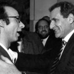 Roberto Benigni con Vincenzo Cerami
