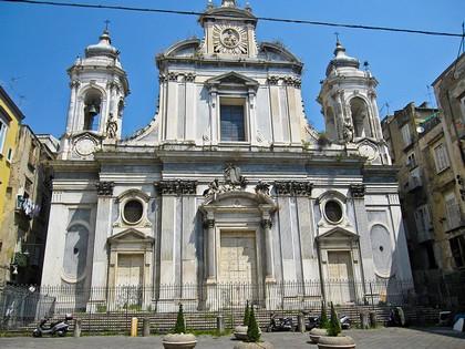La chiesa dei Girolamini, Napoli