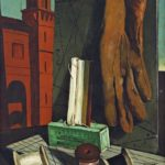Giorgio de Chirico, I progetti della fanciulla, fine 1915. New York, Museum of Modern Art.