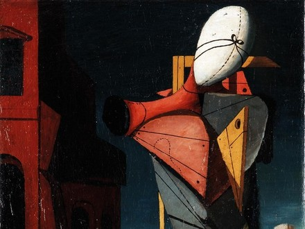 Giorgio de Chirico, Il Trovatore, 1917. Collezione privata