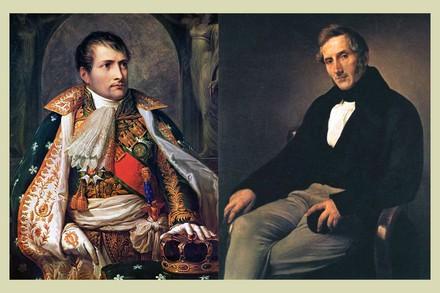 """Napoleone e Alessandro Manzoni : quest'ultimo scrisse l'ode """"Il cinque maggio"""" in occasione della morte dell'imperatore francese"""