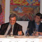 Dante Maffia con Fabio Pierangelini