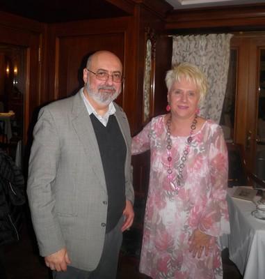 Alessandro Quattrone e Cinzia Demi a Bologna