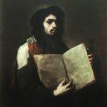 Giordano Bruno, autoritratto in veste di astronomo, collezione privata