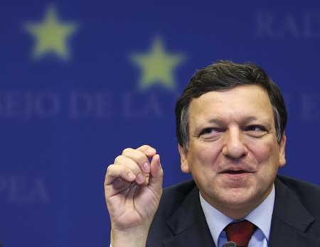 Il Presidente della Commissione europea, il portoghese Barroso