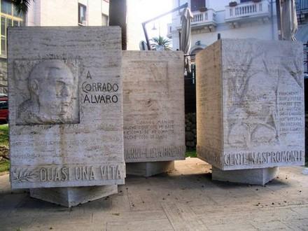Reggio Calabria, Monumento a Corrado Alvaro
