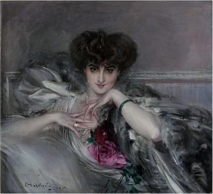 Boldini, ritratto della principessa Radziwill