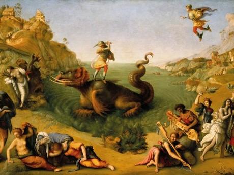 © MiBACT | Piero di Cosimo, Andromeda liberata da Perseo, 1510. Firenze, Galleria degli Uffizi