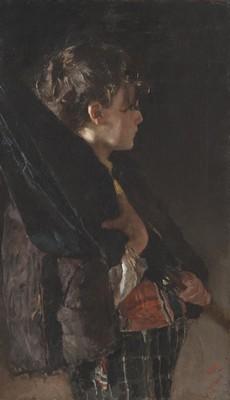Antonio Mancini, Scugnizzo con ombrello