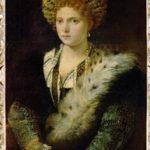 Isabella D'Este, ritratto di Tiziano