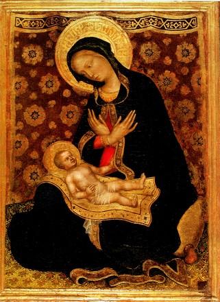 Gentile da Fabriano, Madonna dell'Umiltà col bambino