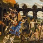 Trionfo della Virtù, Andrea Mantegna (1502), Louvre Parigi