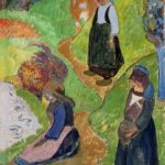 Paul Gauguin, En Bretagne, 1889