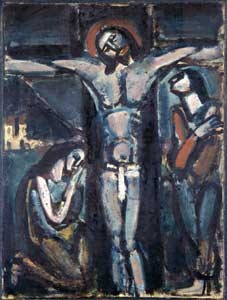 Cristo in croce, Georges Rouault