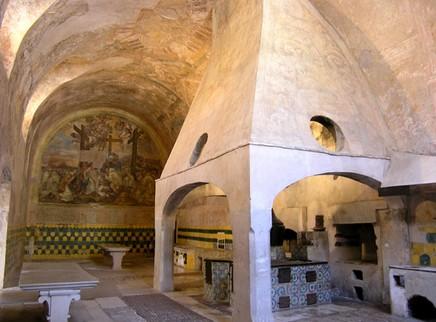 Cucina della Certosa di Padula