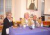Da sinistra, Giuseppe Pambieri, Luca De Fusco e Maurizio Scaparro alla presentazione del Grenoble, Istituto francese di Napoli.