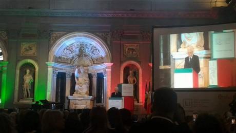 Il presidente Mattarella a Palazzo Vecchio. Foto di Daniela Cundro.