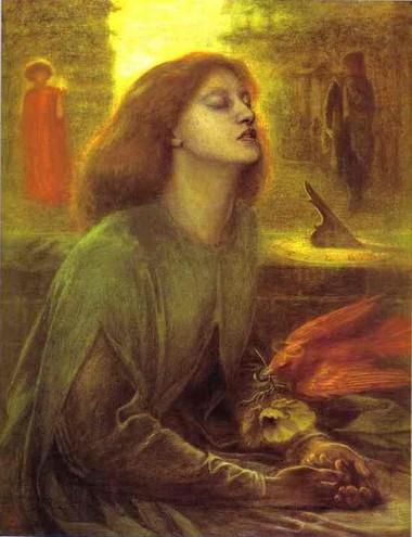 Dante Gabriel Rossetti, Beata Beatrix, 1859